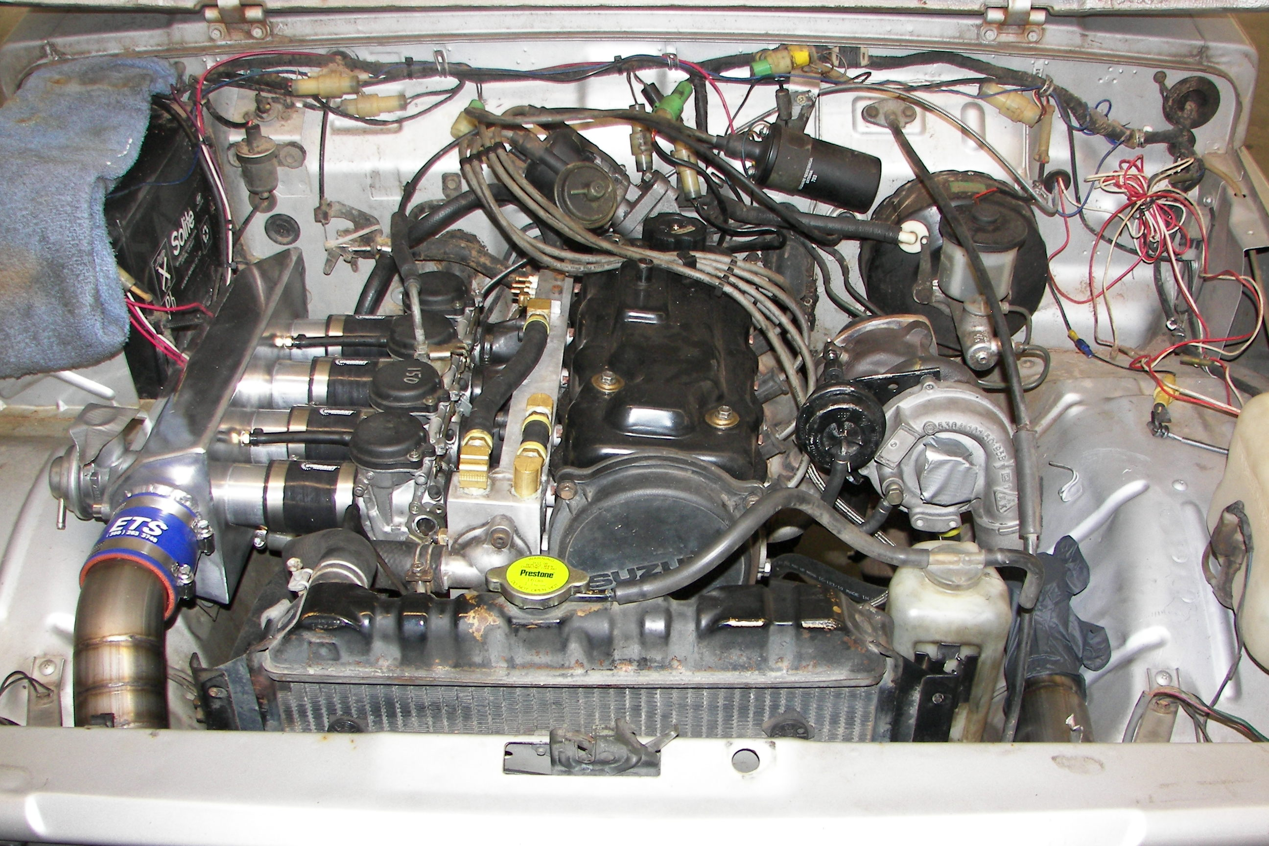how to put on a turbo